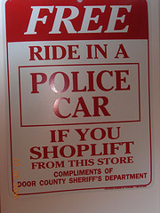 Caught Shoplifting