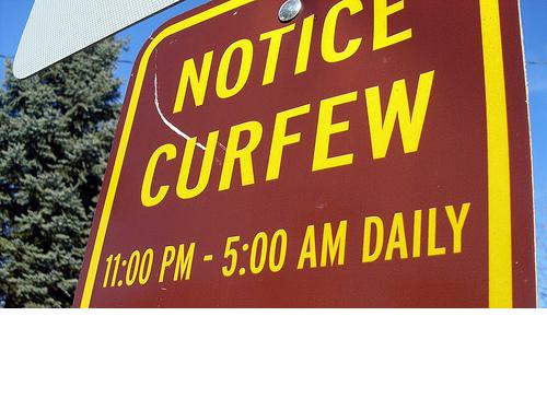 Teenage Curfew Laws Essay