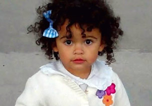 Baby Veronica at two years old